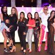 Preta Gil, Wanessa Camargo, Pabllo Vittar, Simony, Gretchen, Glória Groove e Lia Clark posam juntas ao lançar festival 'Milkshake'