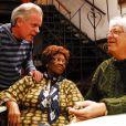 Dona Ivone Lara participou de uma homenagem a Cartola, em 2008, com Chico Pinheiro e Hermínio Bello de Carvalho