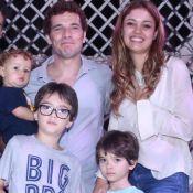 Daniel de Oliveira controla uso de tablet dos filhos: 'Brincam de outra coisa'