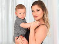 Andressa Suita filma Gabriel falando 'vovó': 'Quando vai falar 'mamãe'?'