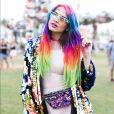 Os cabelos coloridos podem servir de exemplo de tendência que surgiram nas ruas