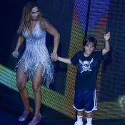 Ivete Sangalo elogia filho, Marcelo, ao vê-lo na bateria: 'Autodidata'. Veja!