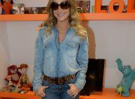 Claudia Leitte divulga seu DVD 'Axemusic' e distribui autógrafos em rádio de SP