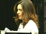 Fátima Bernardes ilumina cabelo e exibe novo visual em shopping. Fotos!