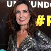 Fátima Bernardes investe em brilho e prateado para show no Rio. Veja fotos!