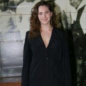 Neta de Audrey Hepburn, Emma Ferrer usa look minimalista no SPFW:'Roupa simples'