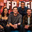 A TV Globo exibiu a gravação do programa 'Tamanho Família' com Thiago Fragoso neste domingo, 22 de abril de 2018