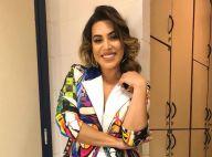 Naiara Azevedo explica look colorido em programa de TV: 'Estampa traduz tudo'
