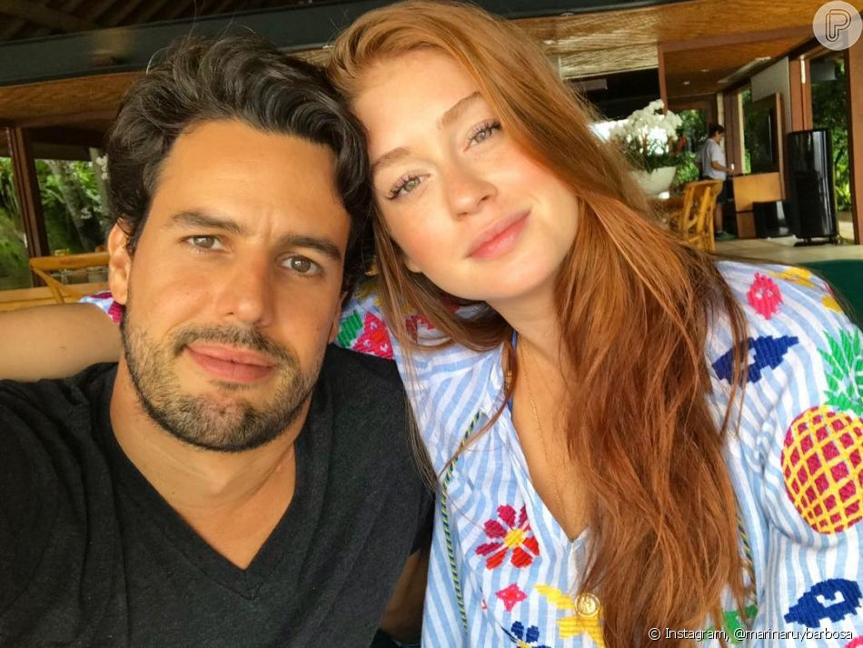 Marina Ruy Barbosa entrega apelidos que Xande Negrão a chama: 'Ele me chama de 'mor', com o sotaque campineiro e também desde o começo do nosso namoro ele me chamava de coisinha - 'coisinha mais linda'
