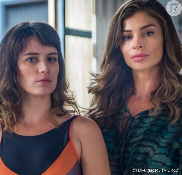 Clara (Bianca Bin) autoriza o filho, Tomaz (Vitor Figueiredo), a visitar Lívia (Grazi Massafera) na última semana da novela 'O Outro Lado do Paraíso': 'Você criou ele. Tem direito a esse amo'