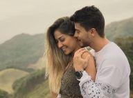 Aos 4 meses de gravidez, Mayra Cardi exibe barriguinha. 'Começando a aparecer'