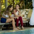 Karola (Deborah Secco) será a namorada ambiciosa de Beto (Emilio Dantas), que contará com Laureta (Adriana Esteves) para bolar vários planos a fim de arrancar dinheiro dele