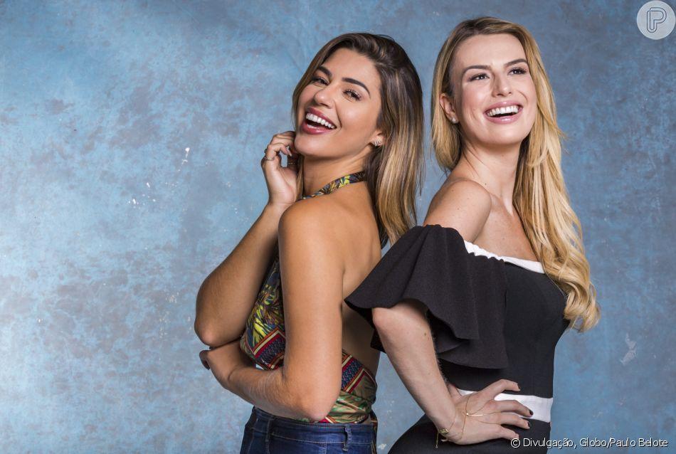 Vivian Amorim e Fernanda Keulla, após 'BBB', integram 'Vídeo Show', como indicou a Globo nesta quarta-feira, dia 25 de abril de 2018