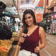 Vivian Amorim era repórter de rua do reality e apresentadora do 'Rede BBB'