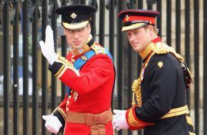 Príncipe William aceita ser padrinho do casamento do irmão, Harry: 'Honrado'
