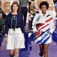 Durante semana de moda de Nova York, a marca Ralph Lauren apostou no moletom com tecidos mais leves e até a alfaiataria