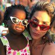 'Não é que eu perceba o racismo hoje com ela: eu percebo no geral coisas que antes eu não me dava conta', contou Giovanna Ewbank