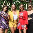 Isabella Santoni, Mariana Goldfarb, Marina Ruy Barbosa e Julia Faria marcaram presençã em evento de moda na tarde desta quinta-feira, 26 de abril de 2018