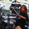 Filho mais velho de Ivete Sangalo, Marcelo, de 8 anos, acompanhou a mãe no evento