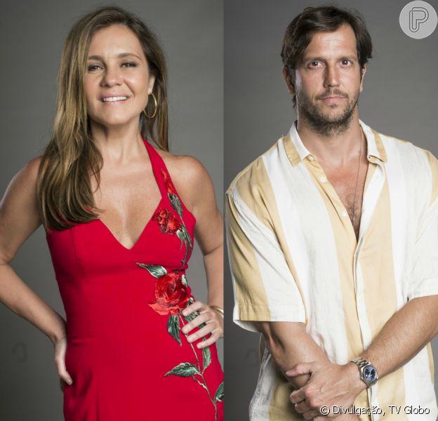 Adriana Esteves e Vladimir Brichta serão 'exs' na novela 'Segundo Sol': 'Se frequentaram'