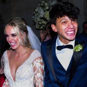 Lexa e MC Guimê vão ao casamento de Tata Estaniecki e Júlio Cocielo. Fotos!