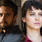 'O Outro Lado do Paraíso': Renato imobiliza Clara e aponta arma para sua cabeça