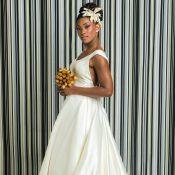 'O Outro Lado do Paraíso': Raquel usa vestido tradicional em casamento com Bruno