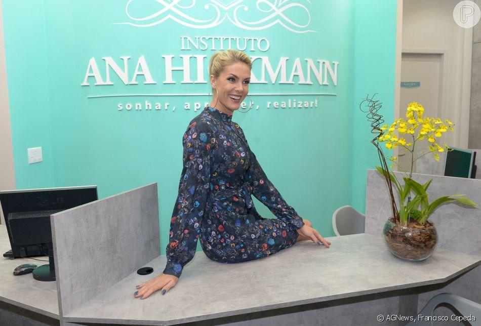 8827eee8d4103 Ana Hickmann afirma disponibilizar bolsas de estudo para os alunos que não  tiverem condições financeiras de custear o curso escolhido em seu Instituto
