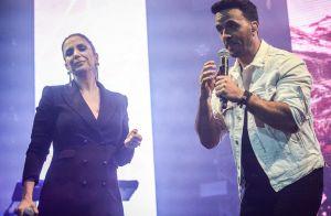 Ivete Sangalo, com look all black, canta com Luis Fonsi e ganha elogio: 'Rainha'