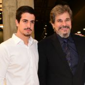 Enzo Celulari faz tatuagem em homenagem ao pai, Edson: 'Mundo de chances'