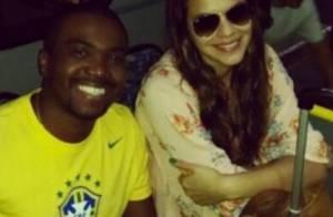 Bruna Marquezine embarca para Fortaleza onde Neymar vai jogar pela Seleção