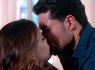 Novela 'Carinha de Anjo': Cecília e Gustavo se beijam após reatarem casamento