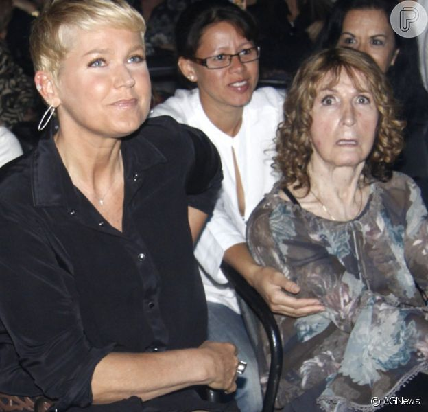 Xuxa Meneghel lamentou a morte da mãe, Dona Alda, aos 81 anos, em seu Instagram, nesta terça-feira, 8 de maio de 2018