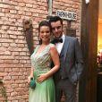 Milena Toscano se casou com o empresário  Pedro Ozores em novembro de 2017
