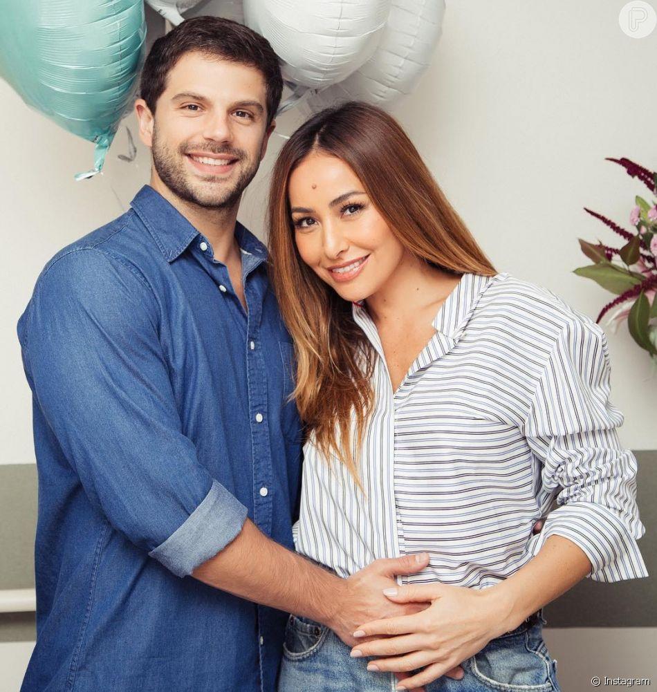 Com gravidez de risco, Sabrina Sato comemorou a alta do hospital Albert Einstein, em São Paulo, nesta quarta-feira, 9 de maio de 2018