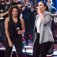 Ivete Sangalo cantou com Margareth Menezes na gravação do programa 'Altas Horas'