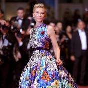 Balonê para colorir: Cate Blanchett une design extravagante e elegância em look