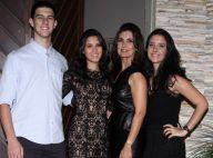 Fátima Bernardes, nos EUA, adia comemoração de Dia das Mães: 'Não achei voo'