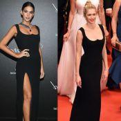 Cannes: cantora repete look Versace de Bruna Marquezine no tapete vermelho