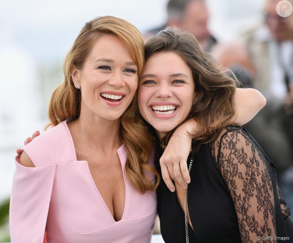 Mariana Ximenes e Bruna Linzmeyer lançam o filme 'O Grande Circo Mistico' em Cannes, na França