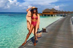 Do clássico ao vibrante: veja looks de Juliana Paes nas Maldivas. Aos detalhes!