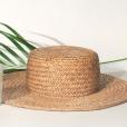 Para os dias de folga nas Maldivas, Juliana escolheu um chapéu de palha da OS/ON de R$ 320