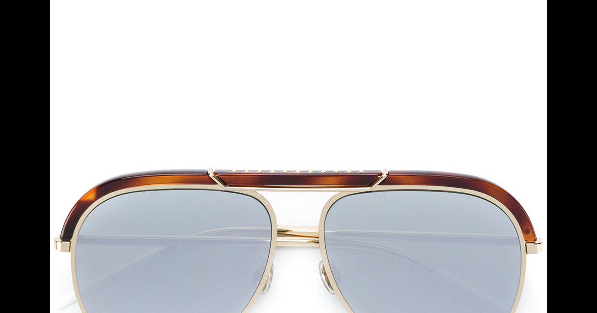 67c21b4b0c6e4 Juliana Paes usou óculos Dior Desertic, disponível à venda na Farfetch por  R  3.6000 - Purepeople
