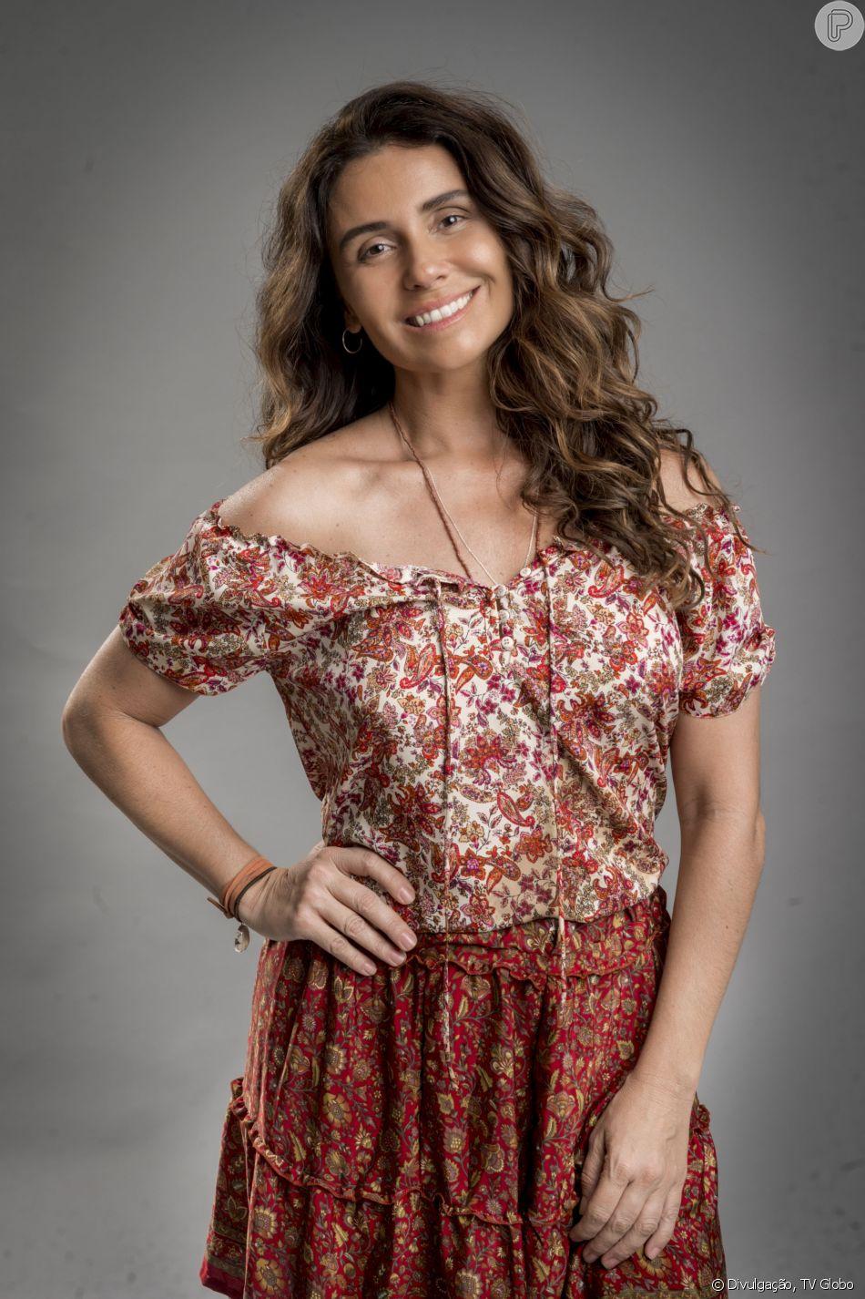 Luzia (Giovanna Antonelli) é presa, foge da cadeia, parte para a Islândia, adota o nome de Ariella e, 18 anos depois, retorna ao Brasil a partir do capítulo de segunda-feira, 21 de maio de 2018 da novela 'Segundo Sol'