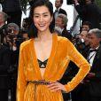 Liu Wen deixou a lingerie à mostra no lançamento do filme ' Han Solo: Uma História Star Wars', no Festival de Cannes