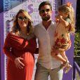 Mariana Bridi filmou momento carinhoso de Aurora, sua filha com Rafael Cardoso