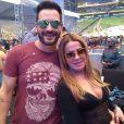 Zilu Camargo ganhou uma declaração do namorado, Marco Augusto Ruggiero