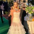 A influencer Lalá Rudge também escolheu o branco, em look  Atelier Le Lis,  para o evento do festival de Cannes