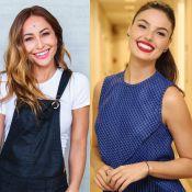 Grávidas conectadas! Sabrina Sato elogia novas curvas de Isis Valverde: 'Linda'