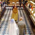 Meghan Markle foi conduzida ao altar pelo sogro, o príncipe Charles